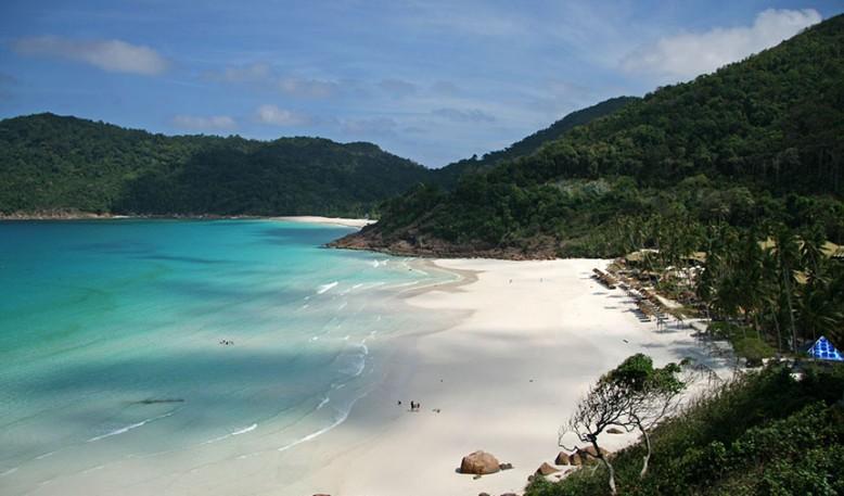 Playas del este: Terengganu o Johor